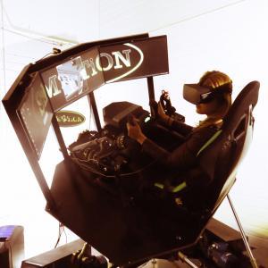 VR Flight Simulator